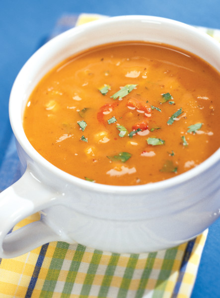 Santa Fe Sweet Potato Soup from 175 Essential Slow Cooker Classics