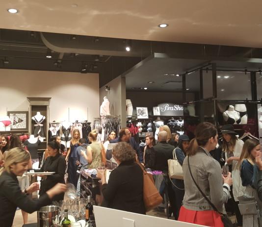 la Vie en Rose anniversary launch party at Toronto Eaton Centre