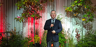 Comedian Ron James performing at The True North Gala in Toronto