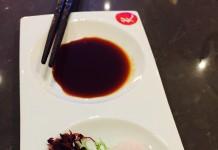 Sashimi at Miku Japanese Restaurant, Toronto