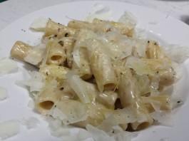 Rigatoni at Bugigattolo Kitchen in Liberty Village