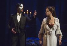 Chris Mann and Katie Travis in Phantom of the Opera, photo Matthew Murphy