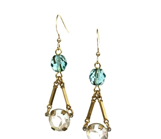 Pacini Earrings in Pacific Blue from Green Bijou by Tricia McMaster Designs