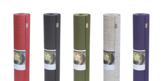 The Original ecoYoga Mat in five shades