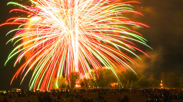 Fireworks at Ashbridge's Bay is one of the most popular things to do Victoria Day weekend in Toronto 2016 , photo Synestheticstrings