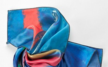 Jack Bush Silk Scarf from AGO Gift Shop, $75, is one of our Mother's Day Gift ideas under $150.