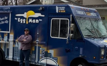 The Egg Man Food Truck will be appearing on the streets of Toronto in 2016.