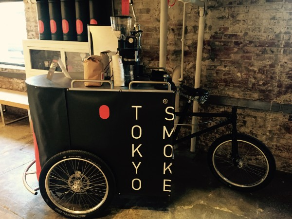 Coffee Cart at Tokyo Smoke in Toronto