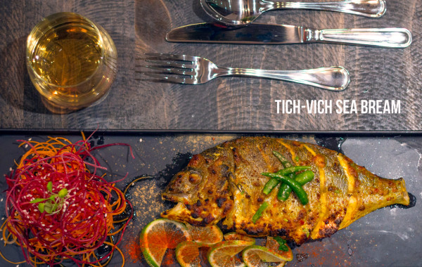 Tich-Vich Sea Bream at Tich Modern Indian Cuisine