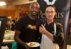 Bashir Munye, Chef, My Little Dumplings and Steffan Howard, Pegasus Entertainment Group