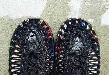 Wearing my UNEEK shoes in rain