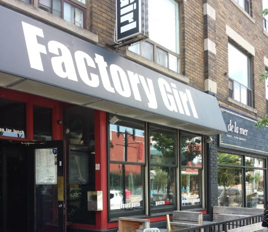 Factory Girl restaurant, Toronto