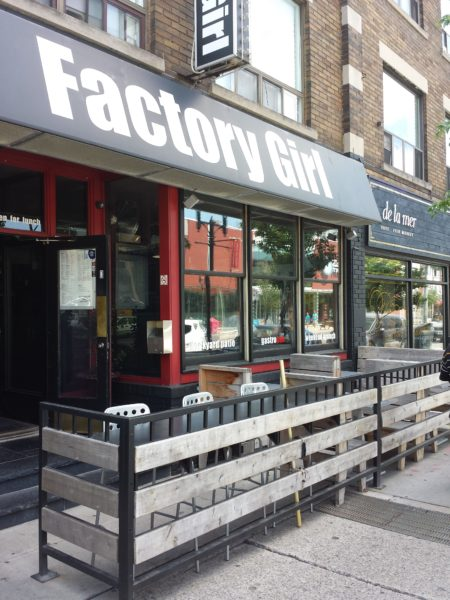 Factory Girl restaurant, Toronto