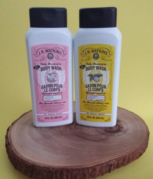 Daily Moisturizing Body Washes in Grapefruit and Lemon Cream from J.R. Watkins
