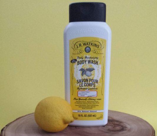 J.R. Watkins Daily Moisturizing Body Wash in Lemon Cream, $9.99
