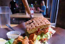 Vegan Burgers from Boon Burger Cafe at Toronto Veg Food Fest