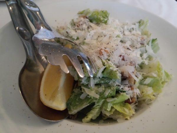 Caesar salad, $10, at Napoli Ristorante & Pizzeria