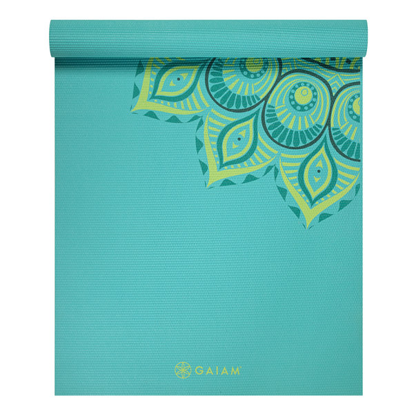 Gaiam Premium Yoga Mat in Capri, $39.99