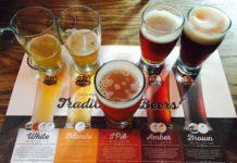 Base beers at 3 Brewers Adelaide