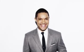 Trevor Noah appears at JFL42 in Toronto in September 2016