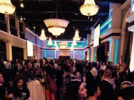 Guests at Eva's Taste Matters at Liberty Grand in Toronto