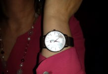 Ladies Sunset Watch, $125 USD, from MVMT Boulevard Collection