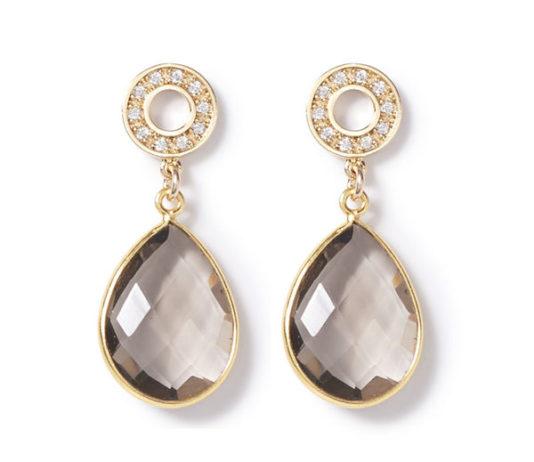 BO1464GLD Earrings from beblue, $110 USD
