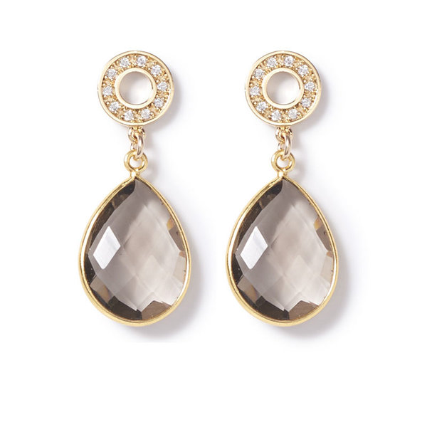 BO1464GLD Earrings from beblue, $110 USD