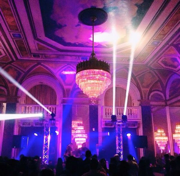 Majestic New Year's Eve 2017 at Toronto's Fairmont Royal York Hotel
