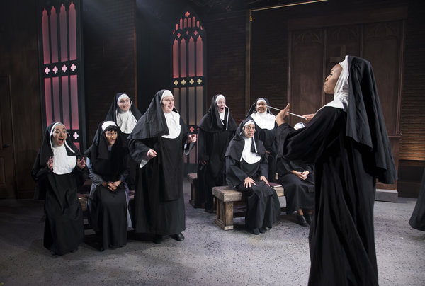 Sister Act at the Lower Ossington Theatre, photo credit Seanna Kennedy Photography