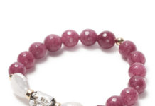 Be Surya Lavish Bracelet with Agate Groseille from Beblue, $95
