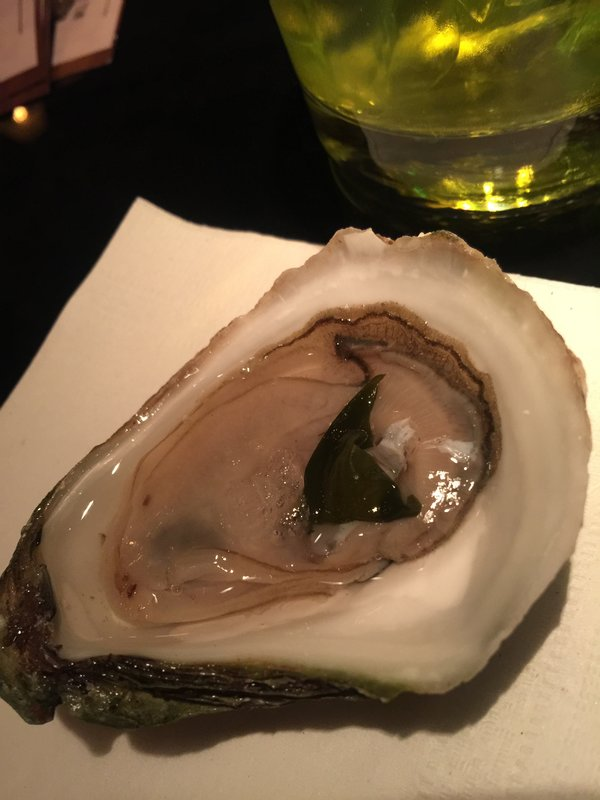 Lucky Lime Oyster at Cluny Bistro at Toronto Light Festival