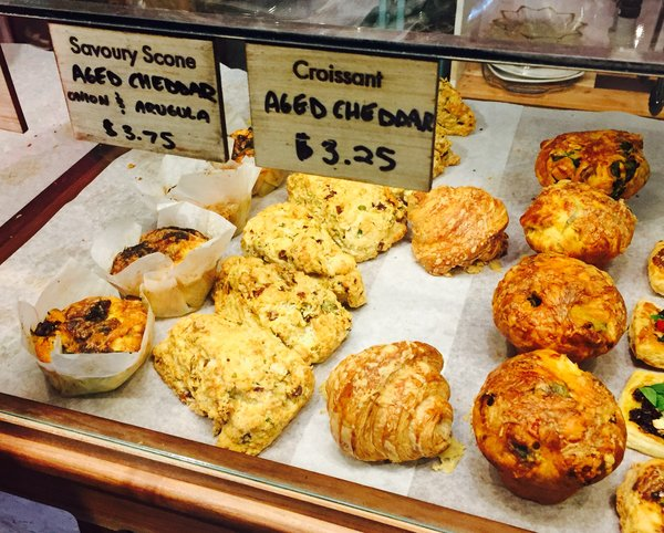 Pastries at Fantail Cafe in Toronto