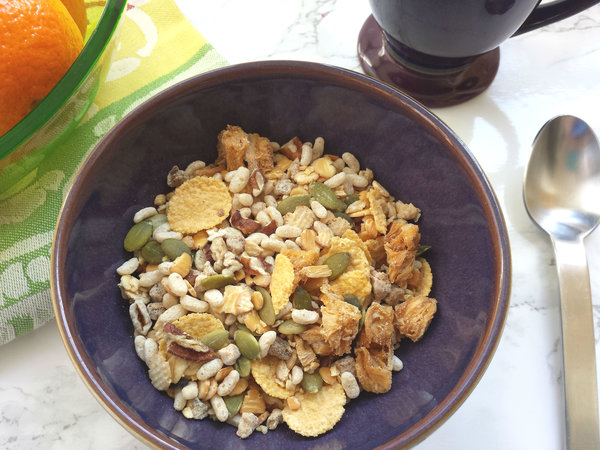 Tropical without gluten ready-made cereal from Mixit