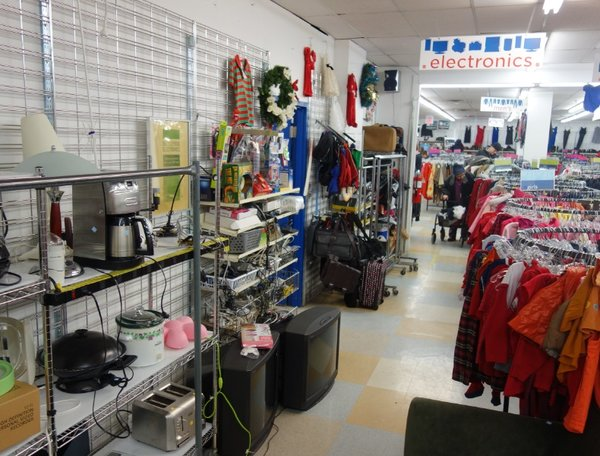 A Salvation Army Thrift Store in Toronto is a popular spot for a technology picker.