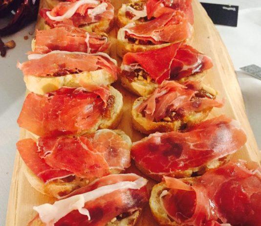 Serrano Ham Pincho from Barsa Taberna