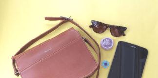 'Elle' vegan handbag in Chili from Matt and Nat