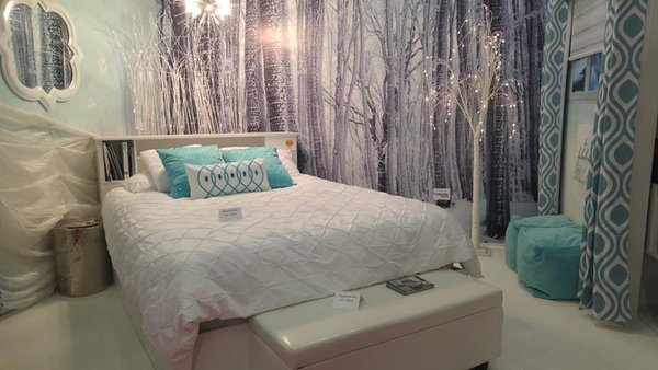 Frozen-themed bedroom by Jackie Morra Interiors at National Home Show in Toronto