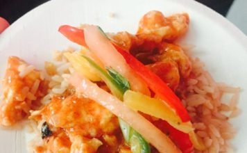 Crowne Plaza's Red Curry at Youth Without Shelter Cover Me Urban event