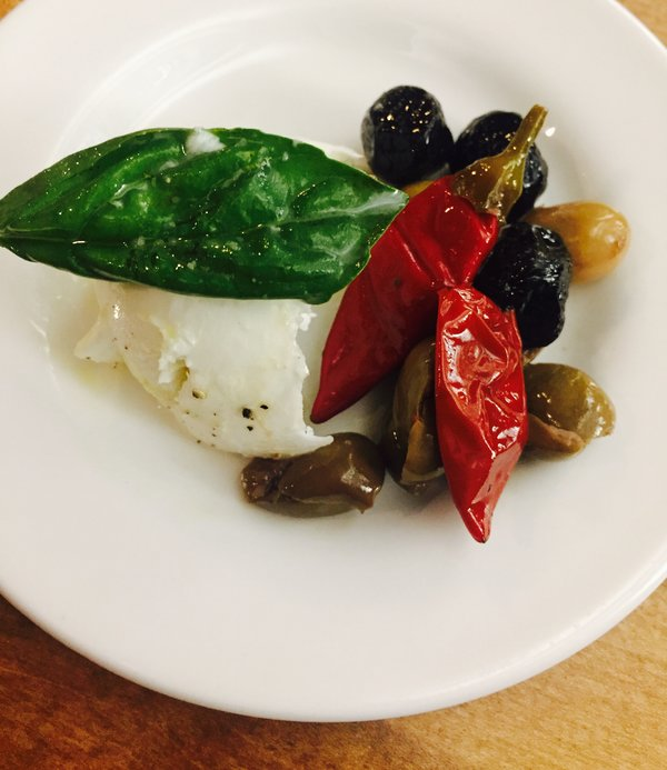 Mozzarella di bufala at Extraordinary Italian Taste at Cibo Wine Bar