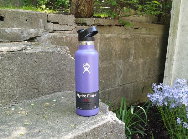 Hydro Flask in Plum in 21 oz., $39.95