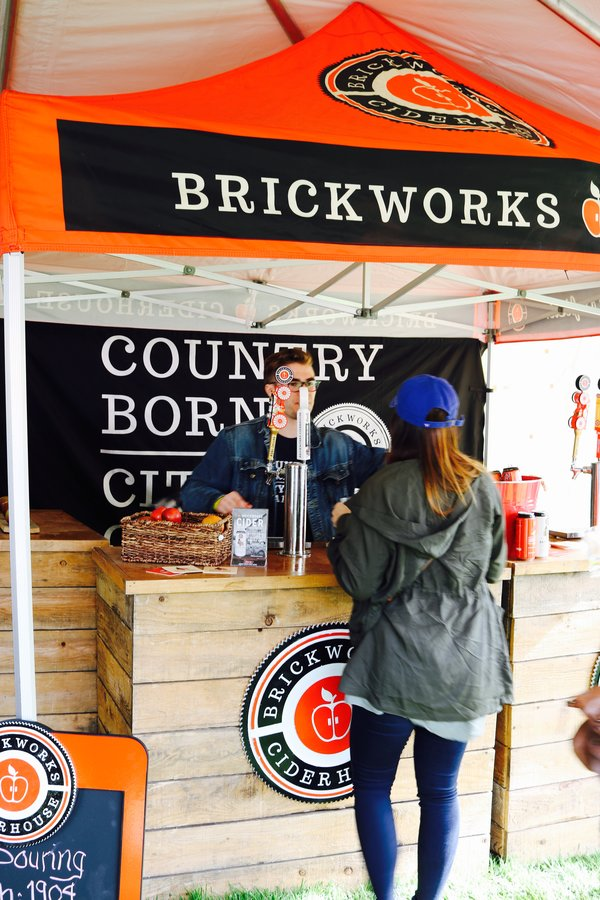 Brickworks Tent at Spring Sessions of Toronto's Festival of Beer