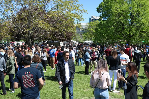 Crowd at Spring Sessions of Toronto's Festival of Beer