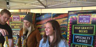 Flying Monkeys Team at Spring Sessions of Toronto's Festival of Beer