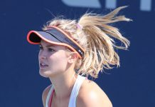 Eugenie Bouchard, photo by si.robi - Bouchard US16 (15), CC BY-SA 2.0, https://commons.wikimedia.org/w/index.php?curid=52043692