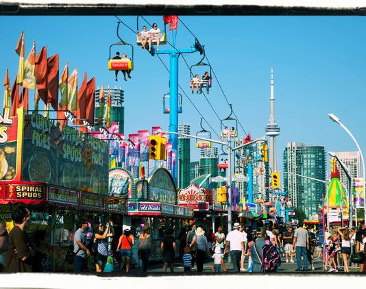 CNE Midway in Toronto