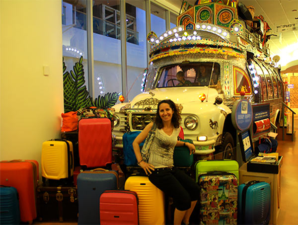 Climb aboard the lavishly decorated Pakistani bus at the Canadian Museum of History