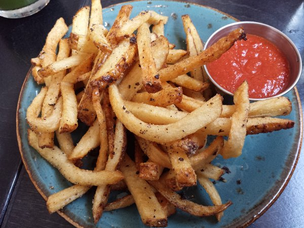 Fries at The Green Wood Restaurant