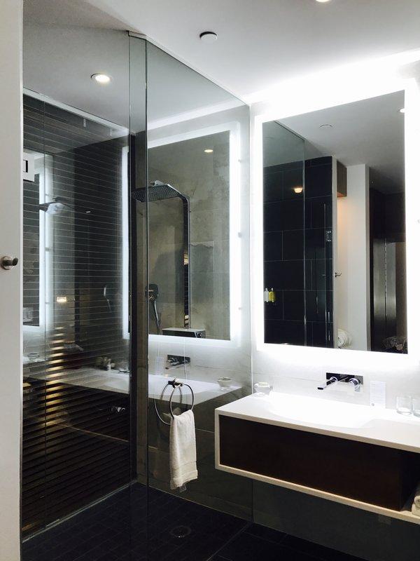Bathroom at Le Germain Hotel, Toronto