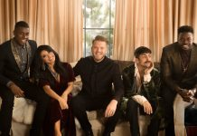 Pentatonix will unveil Hudson's Bay Saks Fifth Avenue holiday windows in Toronto in 2017,, photo credit Matt Fontana